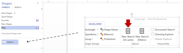 shapes for visio 2013