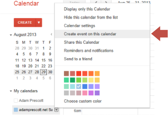 how to delete multiple events from google calendar