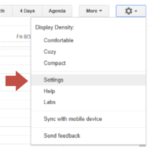 GoogleCalendar_Settings