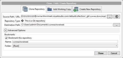 clone-new-repository